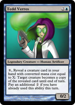 Tedd Verres Card