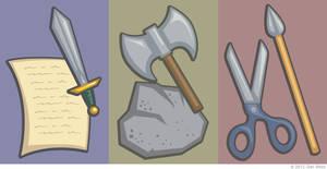 FireEmblem Rock Paper Scissors