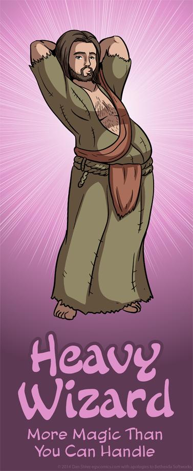 Heavy Wizard by DanShive