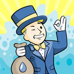 Water Baron Vault Boy by DanShive