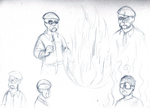 Mythbusters Sketchery by DanShive