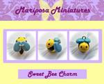 Sweet Bee Charm