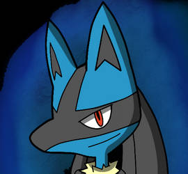 Lucario, The Aura Pokemon