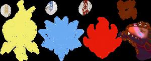 Ultra Dragon head symbols