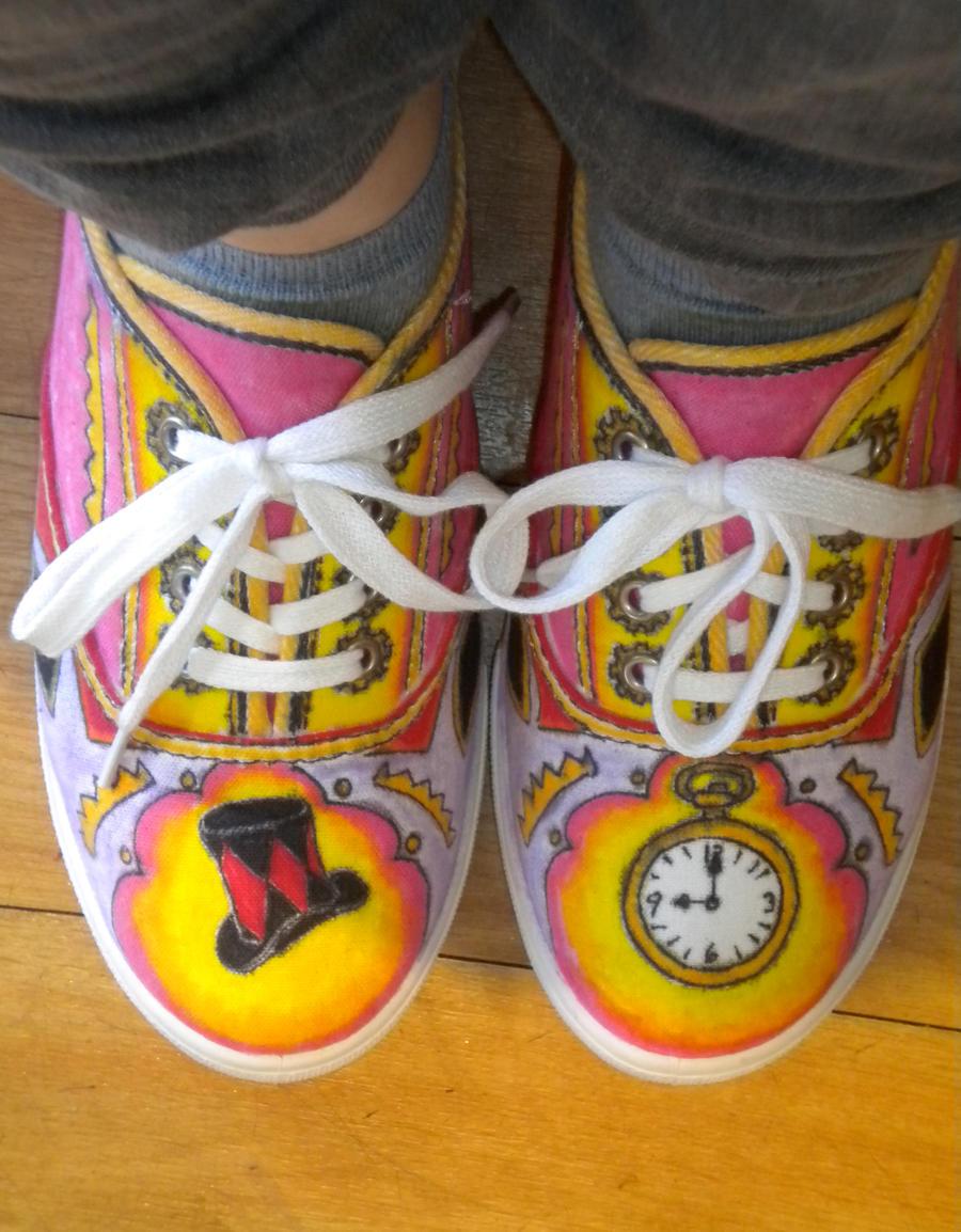 Pretty Odd Shoes by GAClive