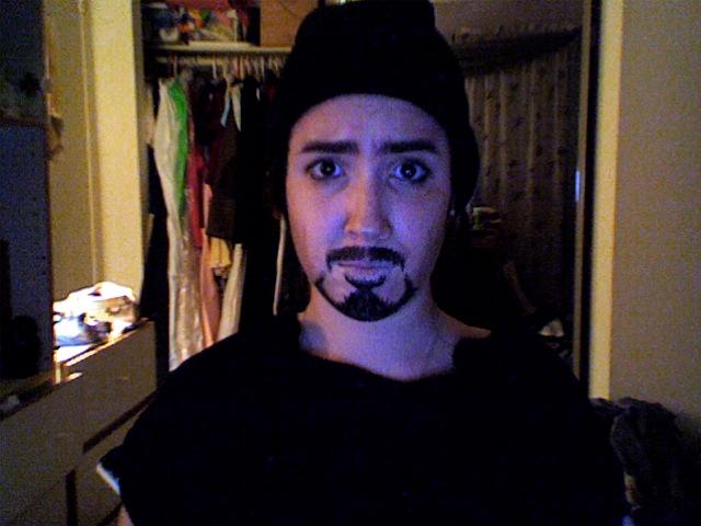 Tony Stark Cosplay Makeup Tony Stark Cosplay