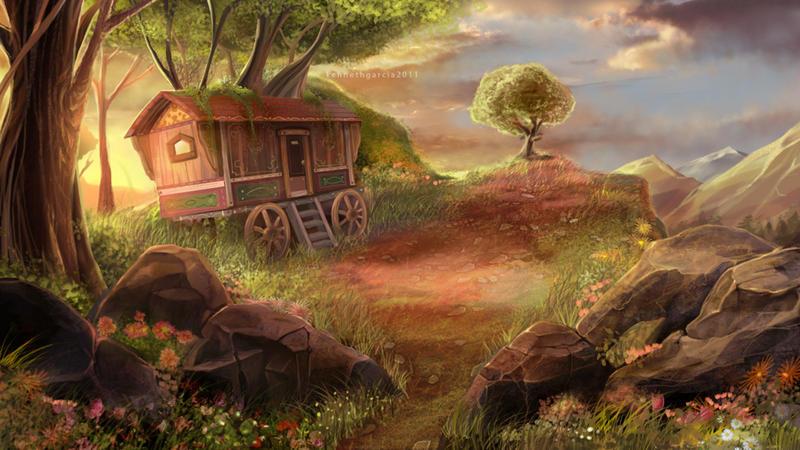 Gypsy Wagon by handsky...