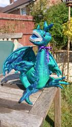 Silk baby dragon
