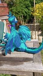 silk baby dragon - wings