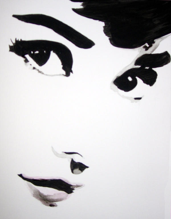 Audrey Hepburn by mixtapegoddess