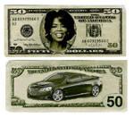 Oprah Winfrey $50 Bill
