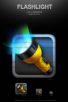 Flashlight icon No1