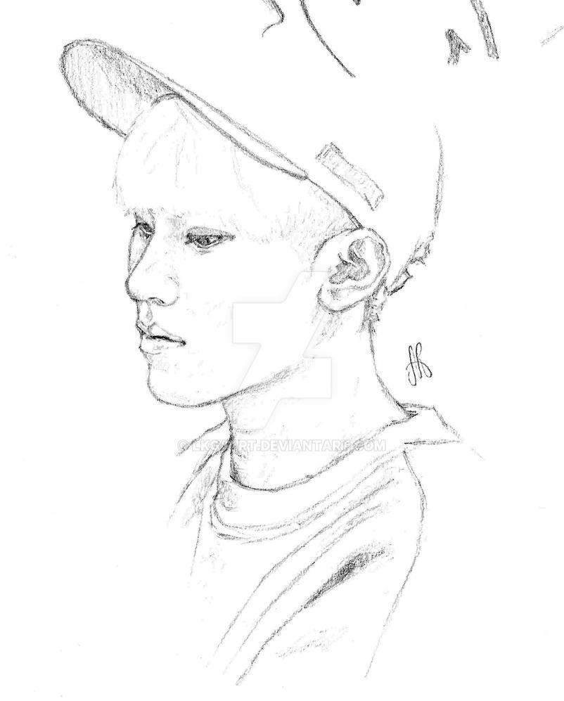 Line Art Kpop : Woozi seventeen by lkg art on deviantart