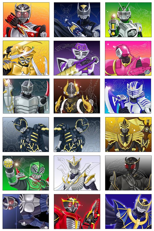 Kamen Rider Ryuki by browntabby