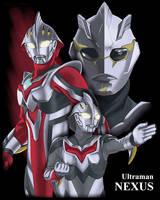 Ultraman NEXUS by browntabby