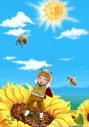 Sunny Balloon by miserymirror