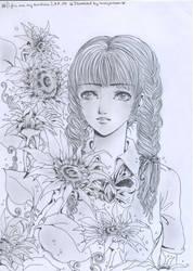 Sun flower1 by lovelymoon1993