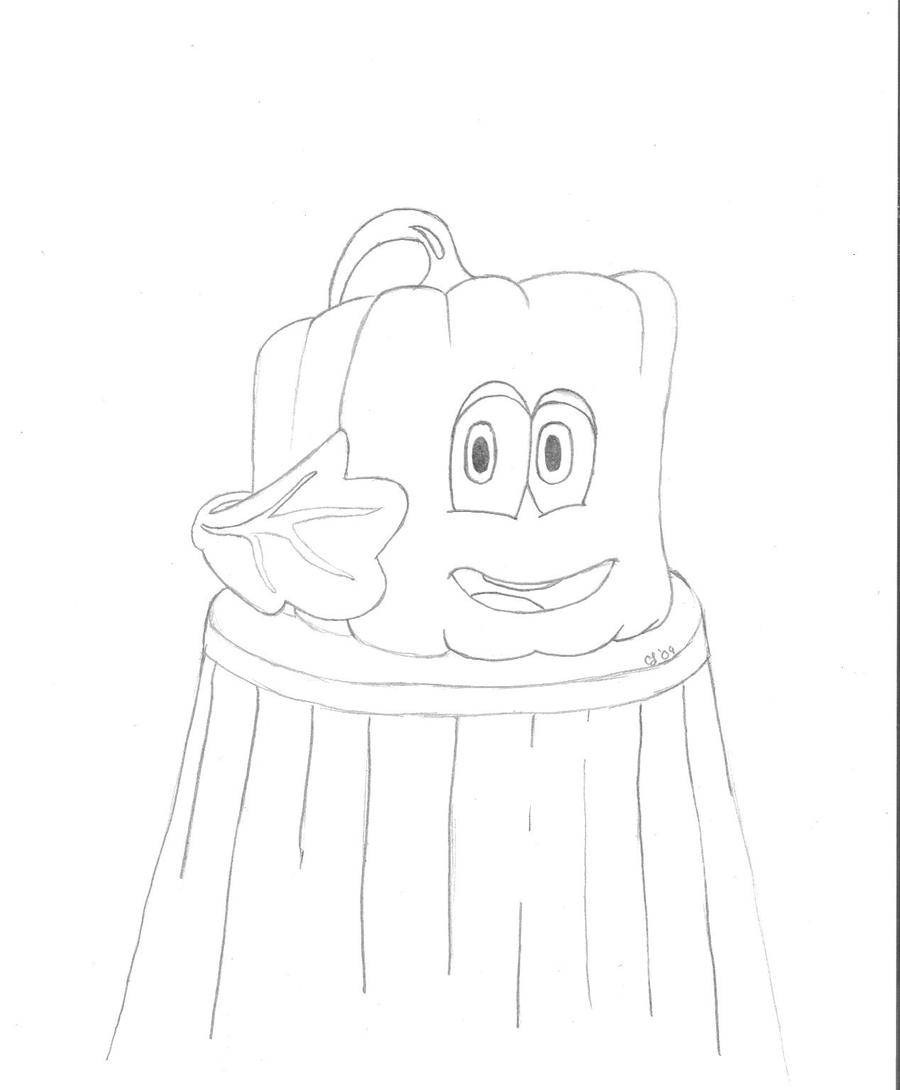 spookley the square pumpkin coloring pages spookley by pharaohslady on deviantart