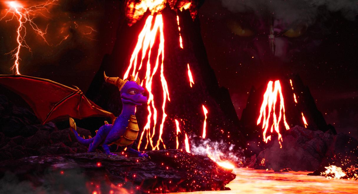 TLoS DotD Spyro Dawn Of The Dragon Wallpaper By Anleas