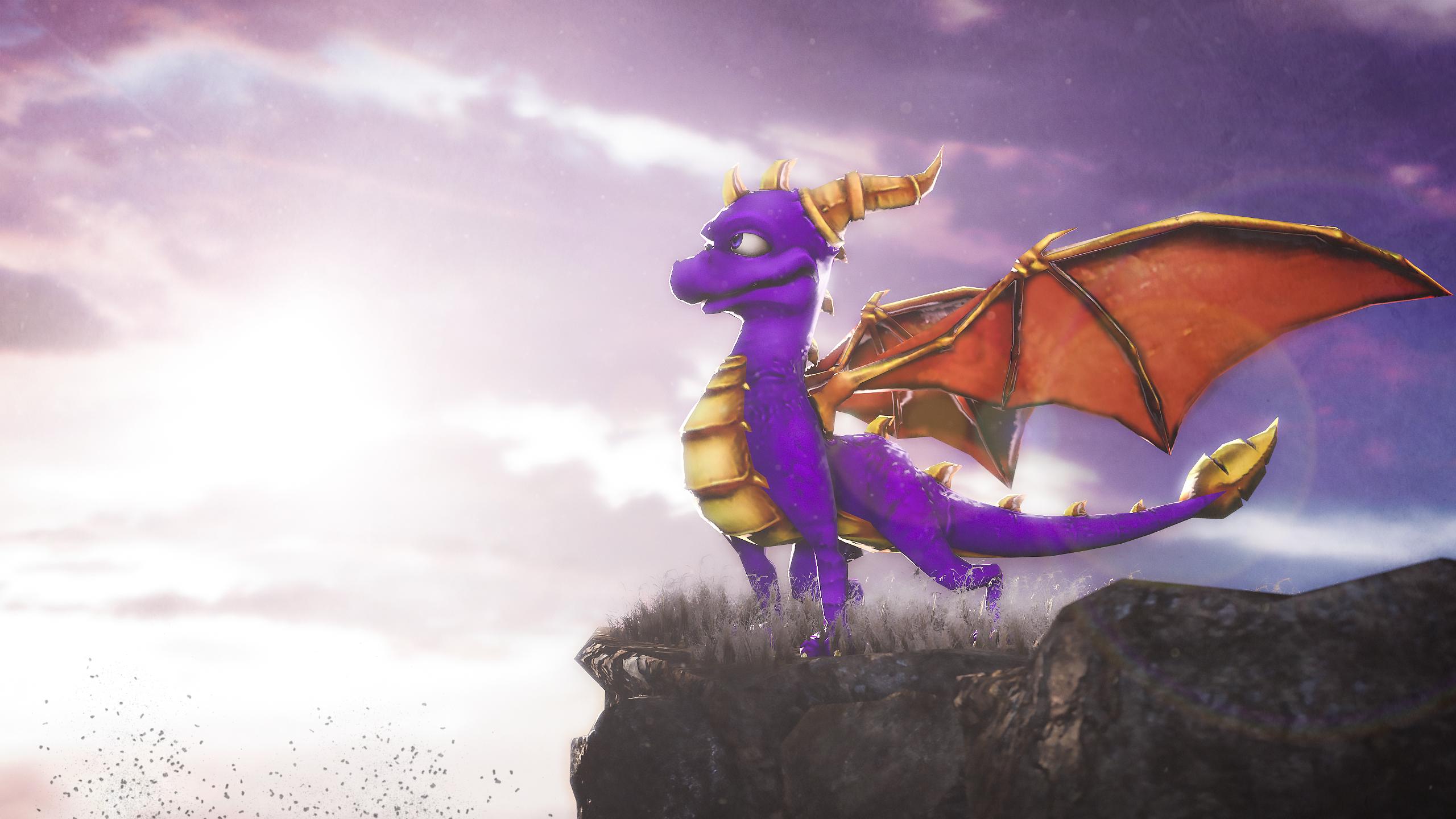 Sfm spyro dawn of the dragon menu by anleas on deviantart - Spyro wallpaper ...