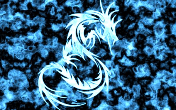 Blue Dragon Wallpaper By Tijnn