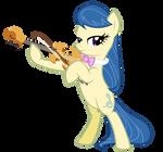 Fiddlesticks (Violist Pony)