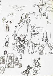 Little Nightmare: Sketch Dump