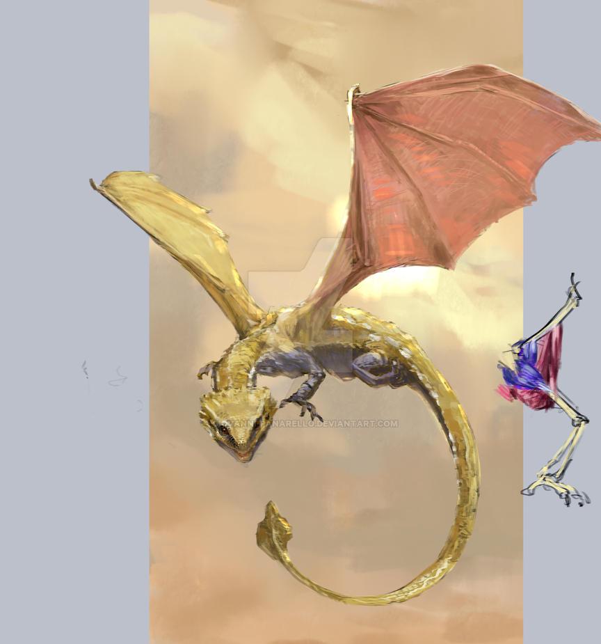 Drago Study by giovanni-panarello