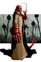 Hell Boy by Stilltsinc