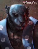 Panthro from the Thundercats by Stilltsinc