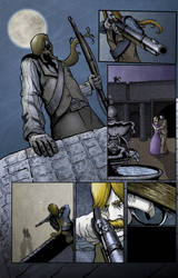 Pages from the Ultraslyvania comic by Stilltsinc