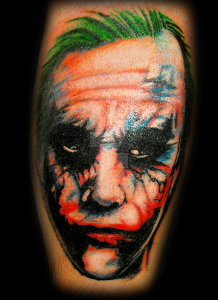 50 Joker Tattoo Designs and Meaning Explained! - Tats 'n