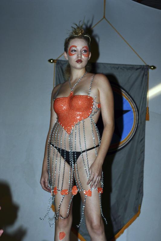 Ceramic breast plate by trajedichampagne