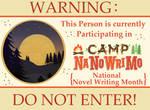 Camp NaNo poster