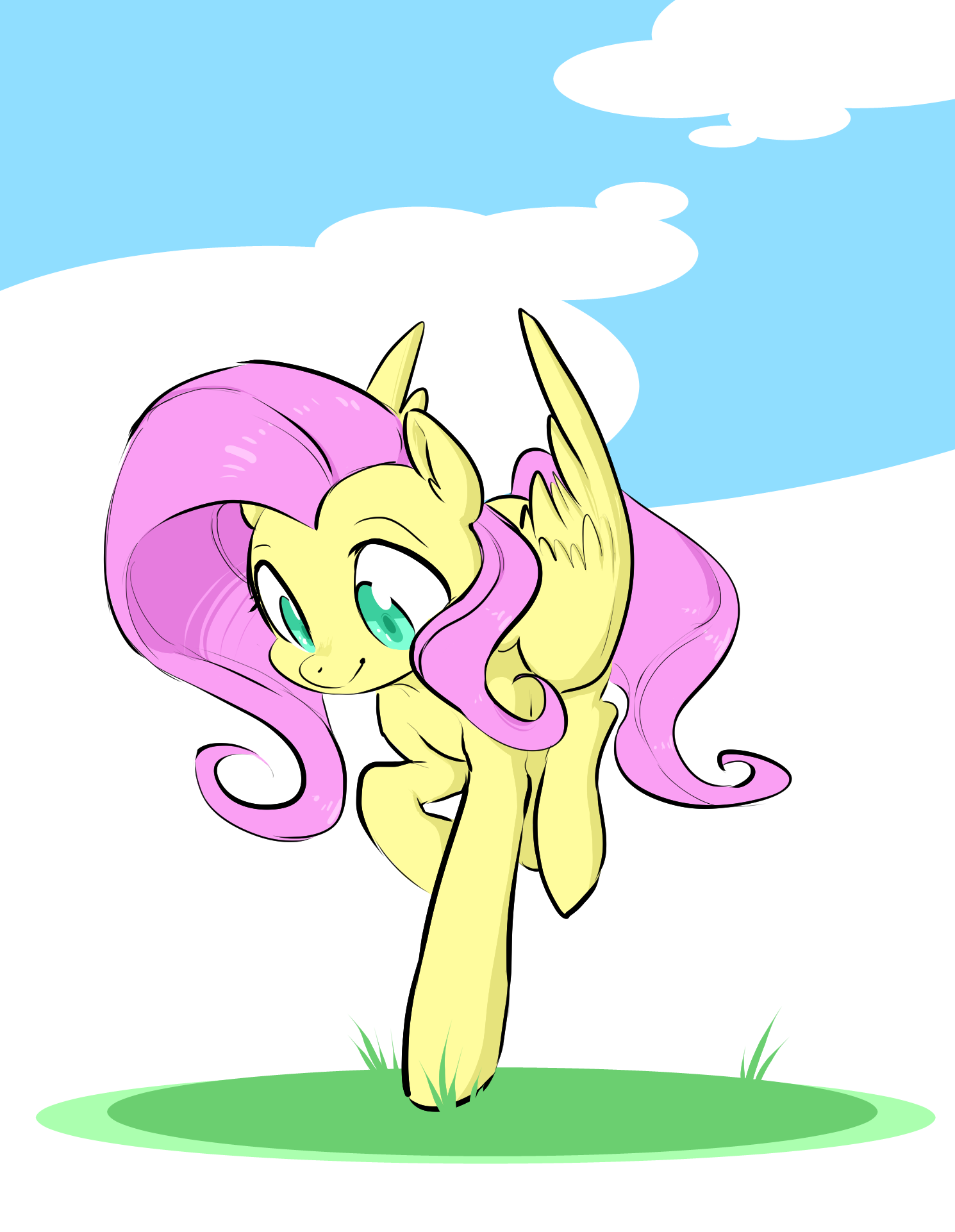 Fly Away Fluttershy