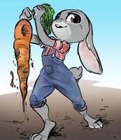 Carrot Farmer by GlacierClear