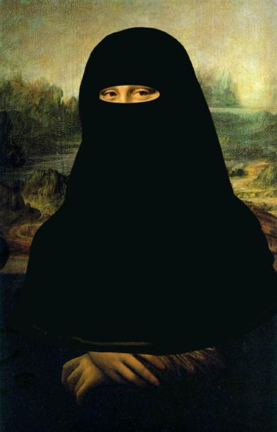 Burqa Lisa by lostreality91