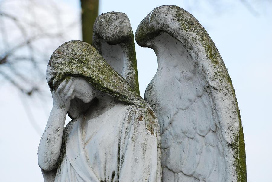 Sadness_angel_stock by elanordh-stock