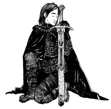 Jon Snow - ASOIAF by reihelen