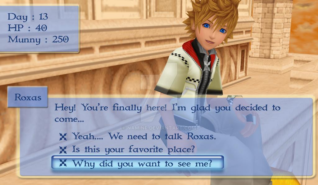 kingdom hearts dating simulation