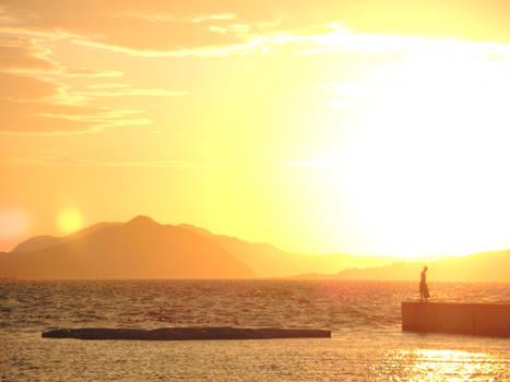 Sunset Pier Walk