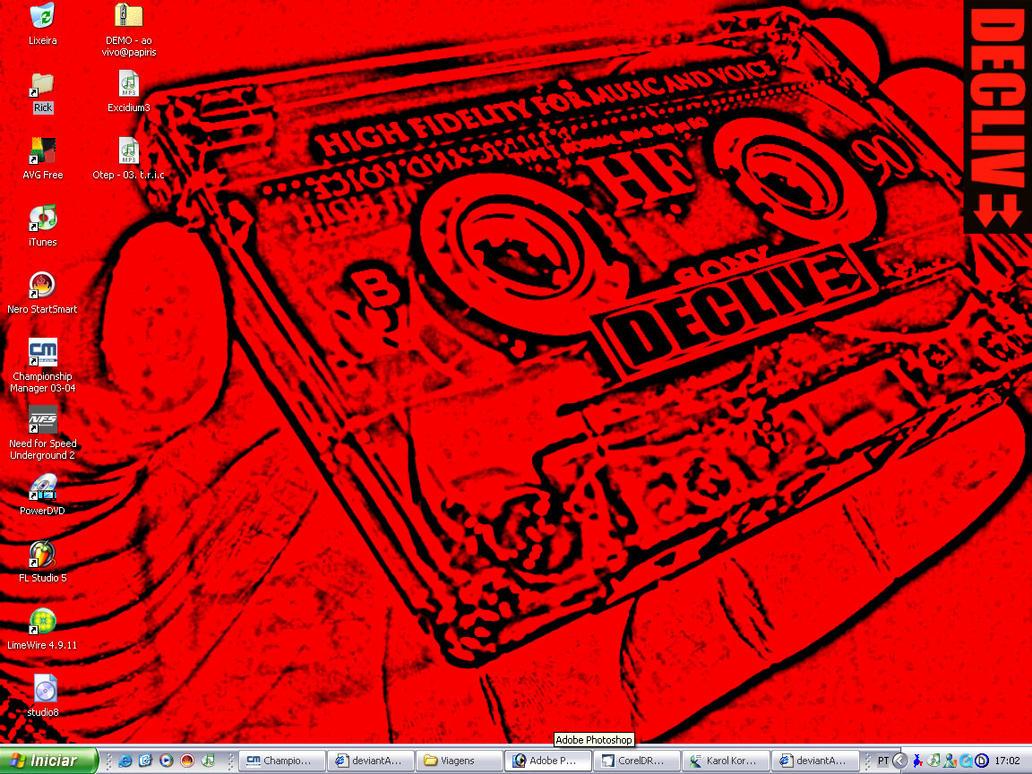 Declive desktop by sphc