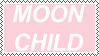 Moon Child Stamp by JERE-AQUATIC