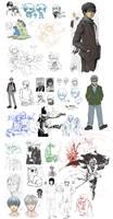 Le Lovely Sketch Dump 3-11