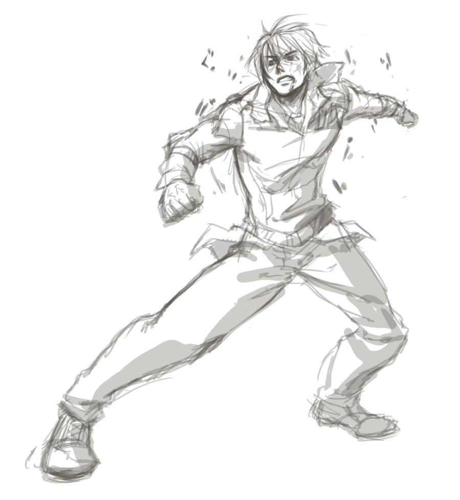 SDLT3: Kami sketch by ryuuen