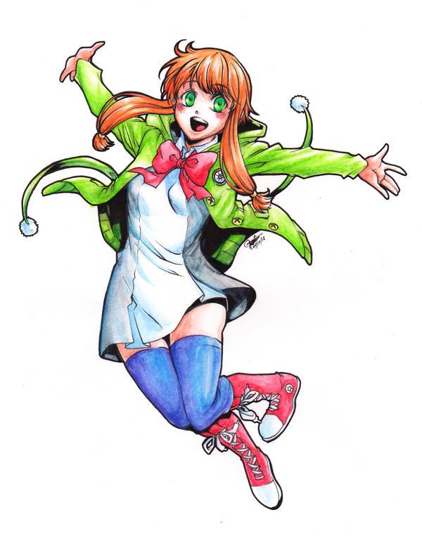 OzPreConComm: Makie Sonozaki for CamiIIe by ryuuen