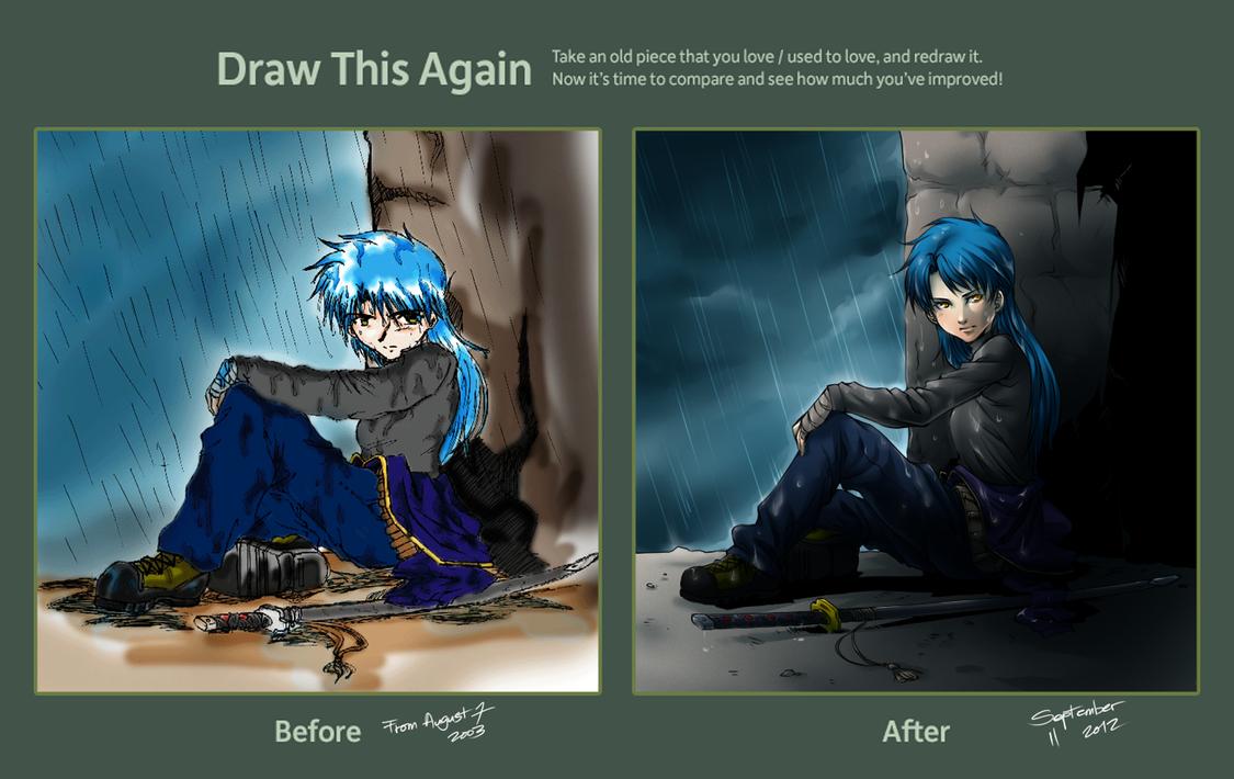 Draw This Again: Aoki Yatsuka by ryuuen