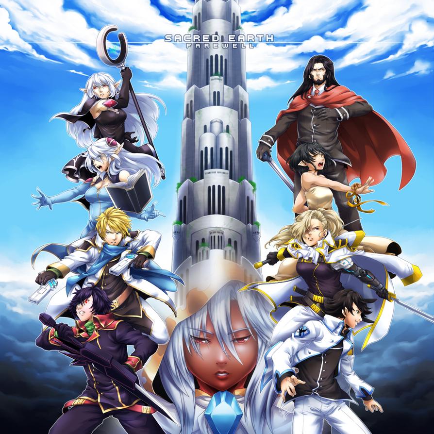 Sacred Earth: Farewell by ryuuen