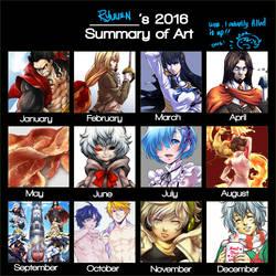 2016 Art Summary by ryuuen