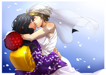 Comm: Wedding Bells by ryuuen